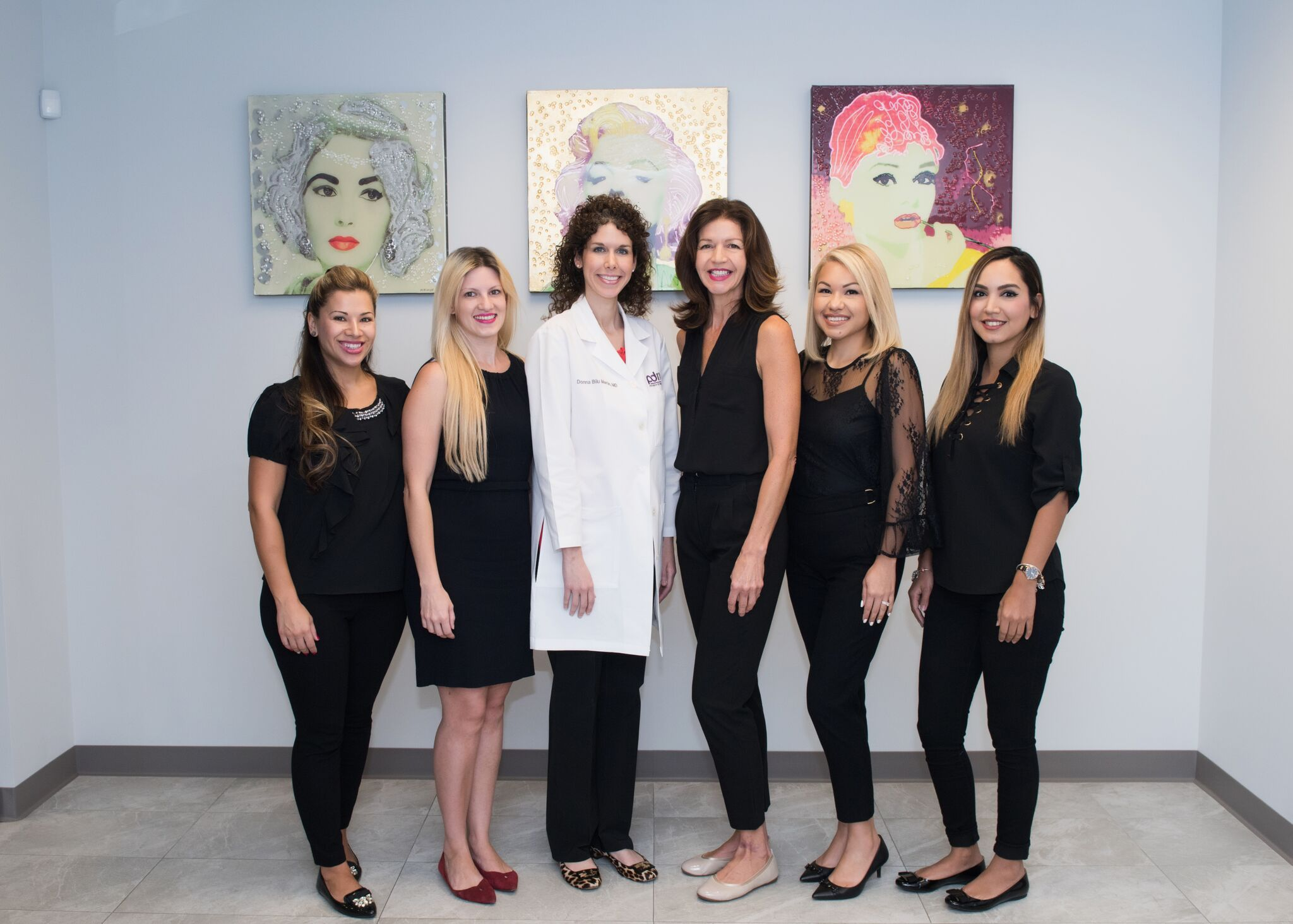 The fabulous staff at Premier Dermatology, MD