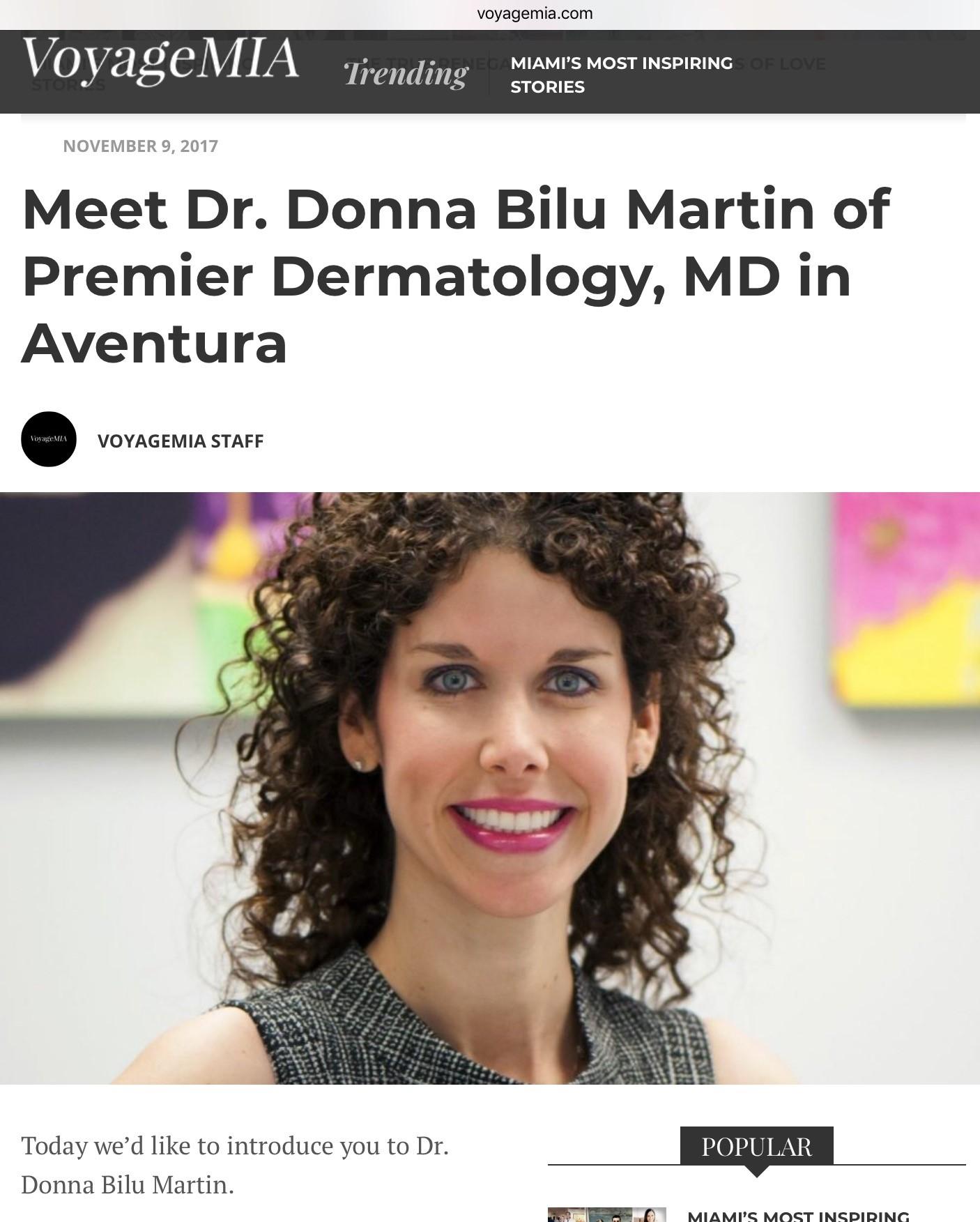 Donna Bilu Martin, MD is featured on voyagemia.com